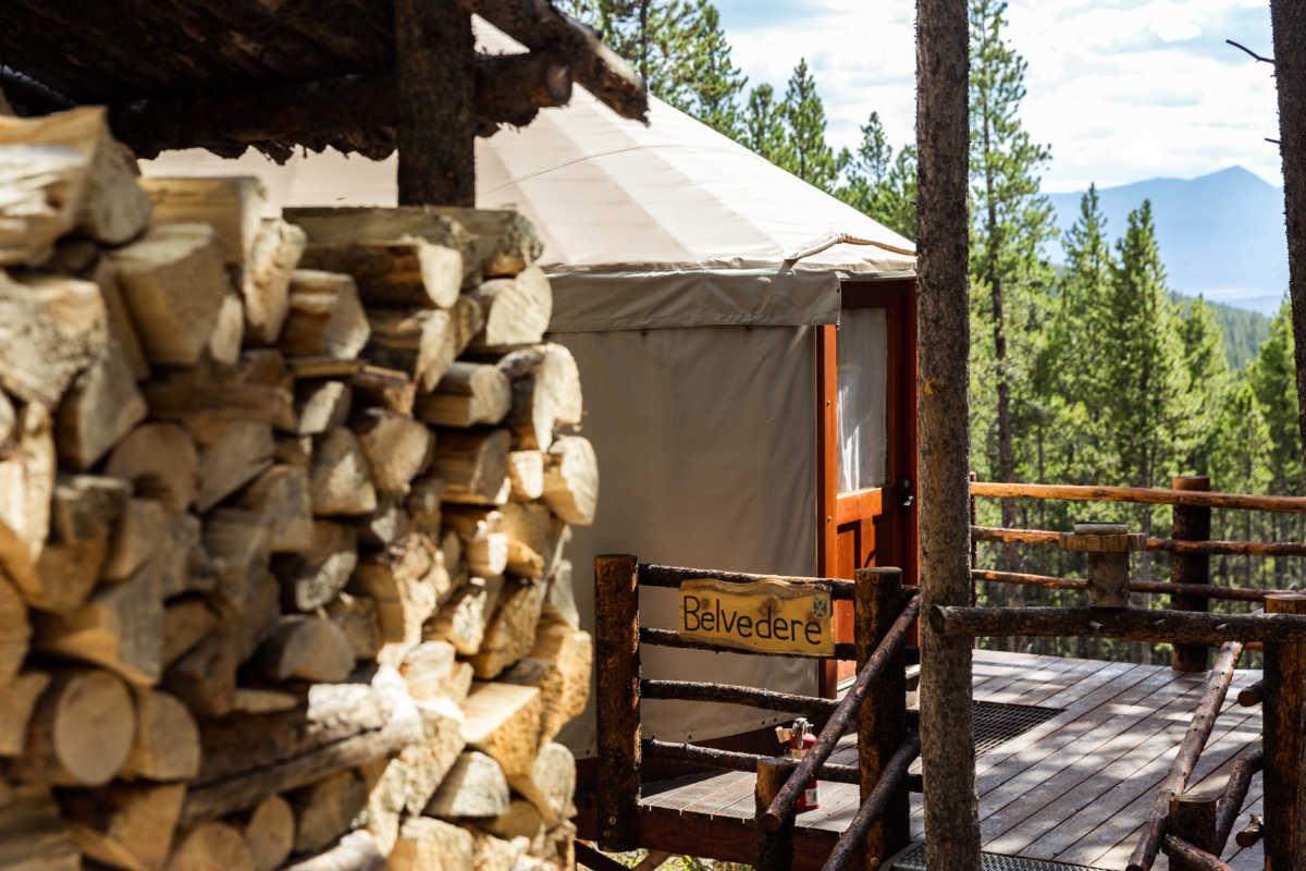 Sleep Yurt Photo Gallery | Tennessee Pass